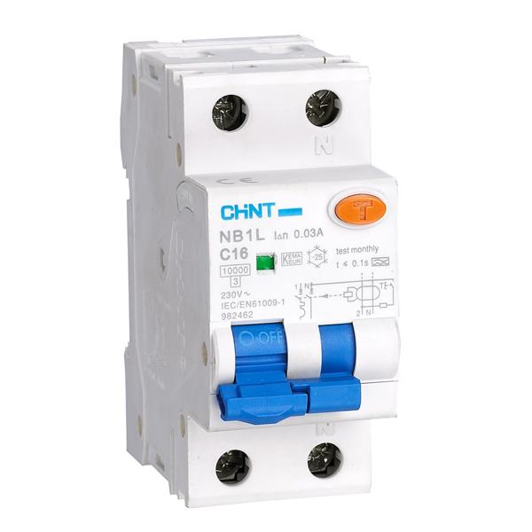 NB1L Residual Current Operated Circuit Breaker