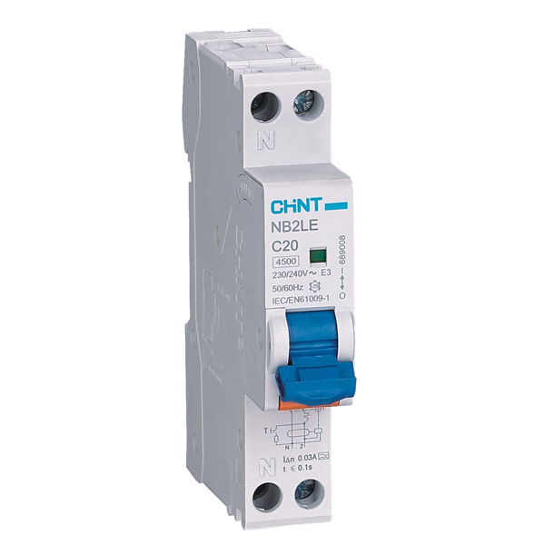 NB2LE Residual Current Operated Circuit Breaker