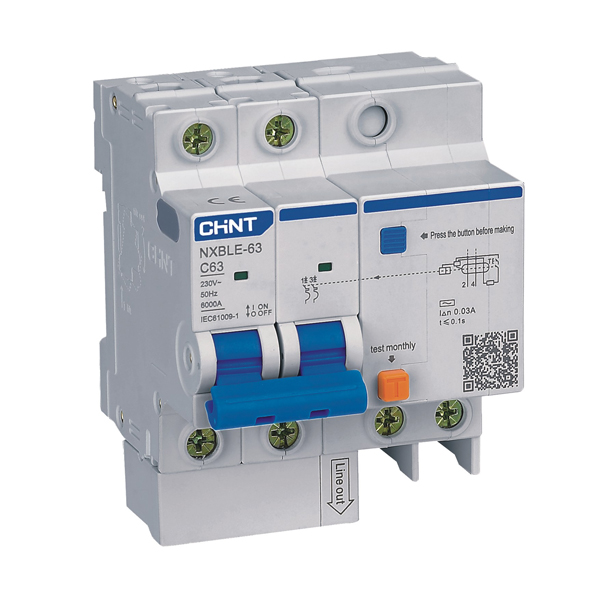 NXBLE-63 Residual Current Operated Circuit  Breaker